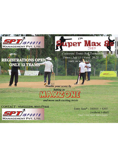 SuperMax Corporate Cricket Tournament